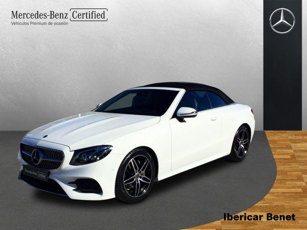 Mercedes Benz Clase E Cabrio 220 d segunda mano Málaga
