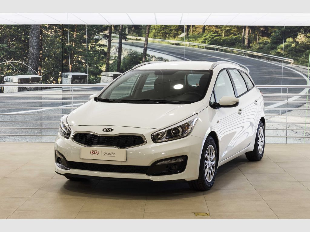 Kia cee'd Sporty Wagon 1.6 CRDi VGT 81kW (110CV) Business segunda mano Madrid