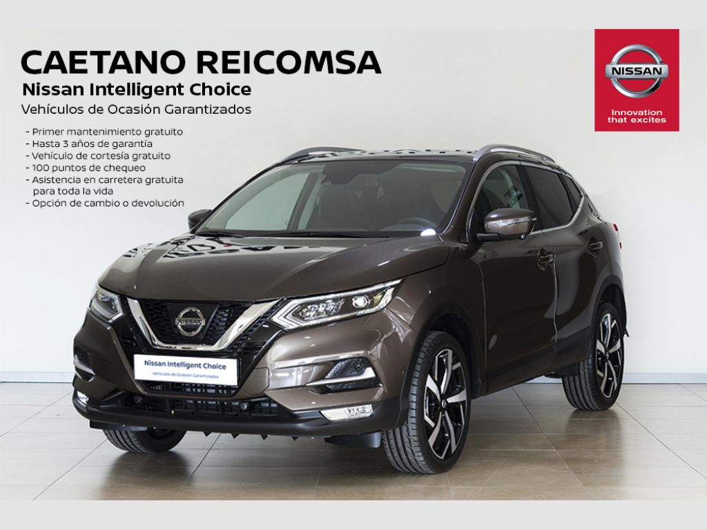 Nissan Qashqai DIG-T 103 kW (140 CV) E6D TEKNA + ACCESORIOS segunda mano Madrid