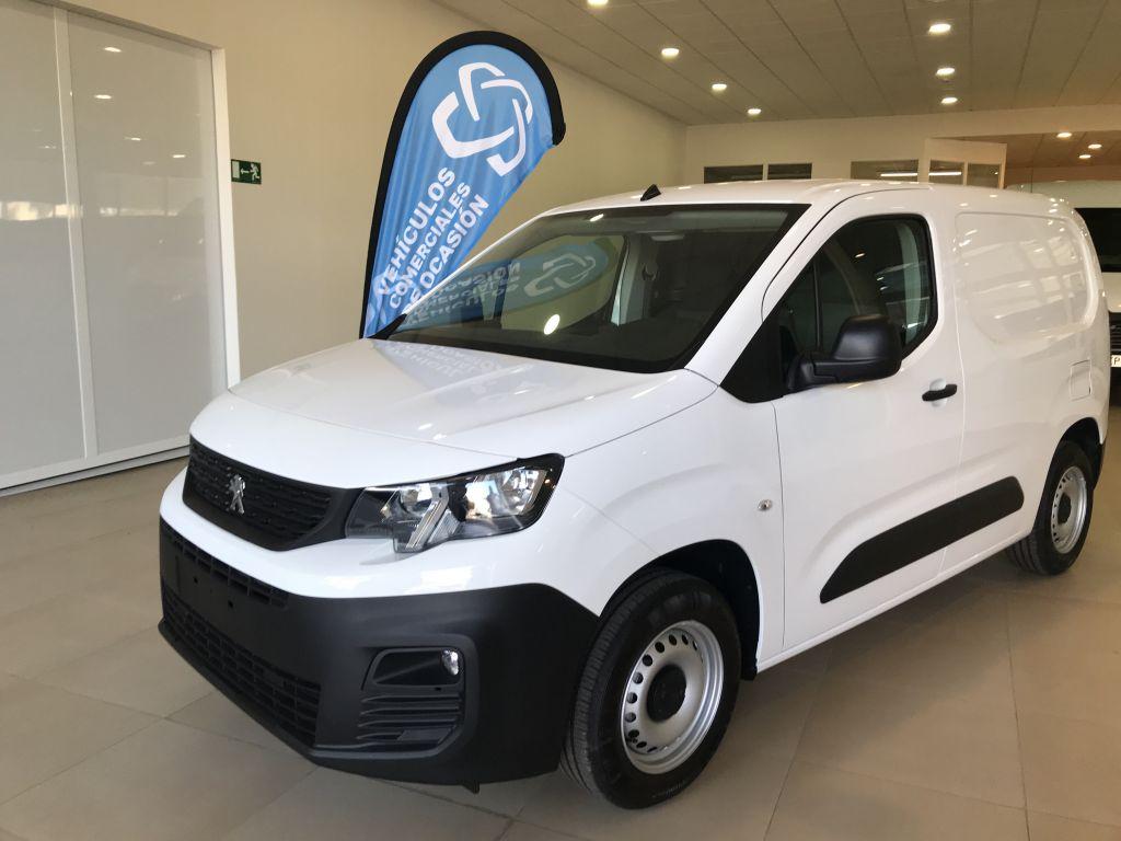 Peugeot Partner PARTNER PREMIUM STANDAR 100CV BLUE-HDI segunda mano Cádiz
