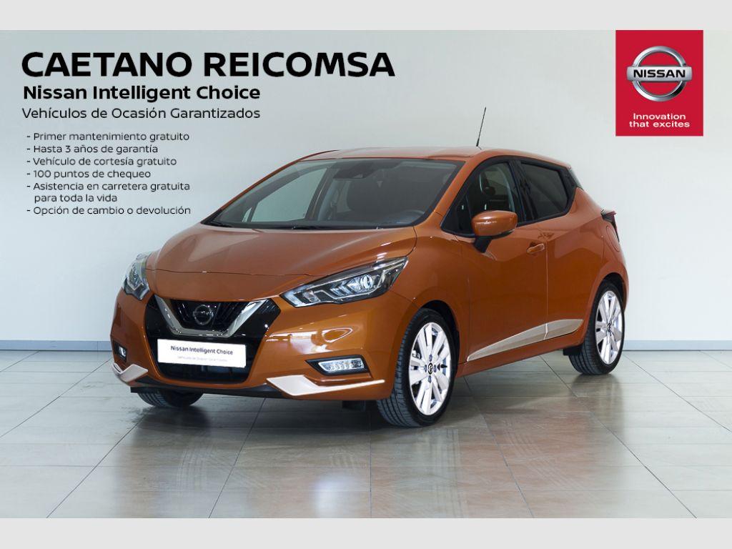 Nissan Micra IG-T 74 kW (100 CV) E6D N-Connecta segunda mano Madrid