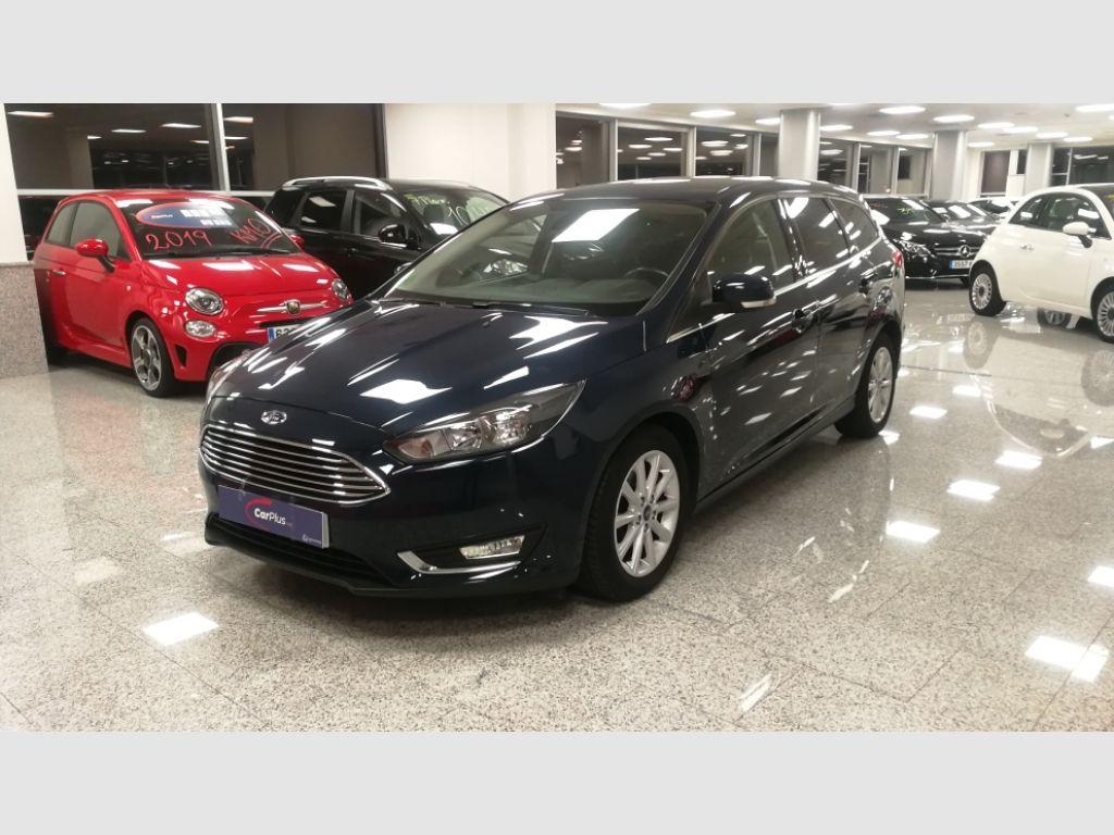 Ford Focus 1.5 TDCi 120cv Titanium Sportbreak segunda mano Madrid