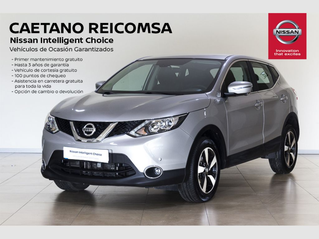 Nissan Qashqai 1.5 dCi N-CONNECTA  segunda mano Madrid
