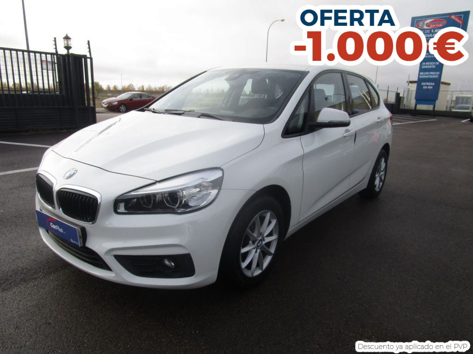BMW Serie 2 Active Tourer 216dA segunda mano Madrid