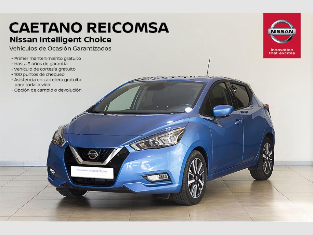 Nissan Micra DIG-T 86 kW (117 CV) E6D N-Connecta + Cámara + Sensores segunda mano Madrid