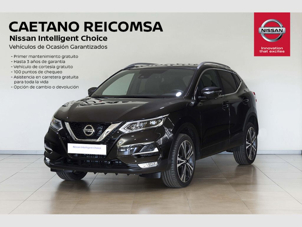 Nissan Qashqai DIG-T 117 kW (160 CV) E6D N-CONNECTA segunda mano Madrid
