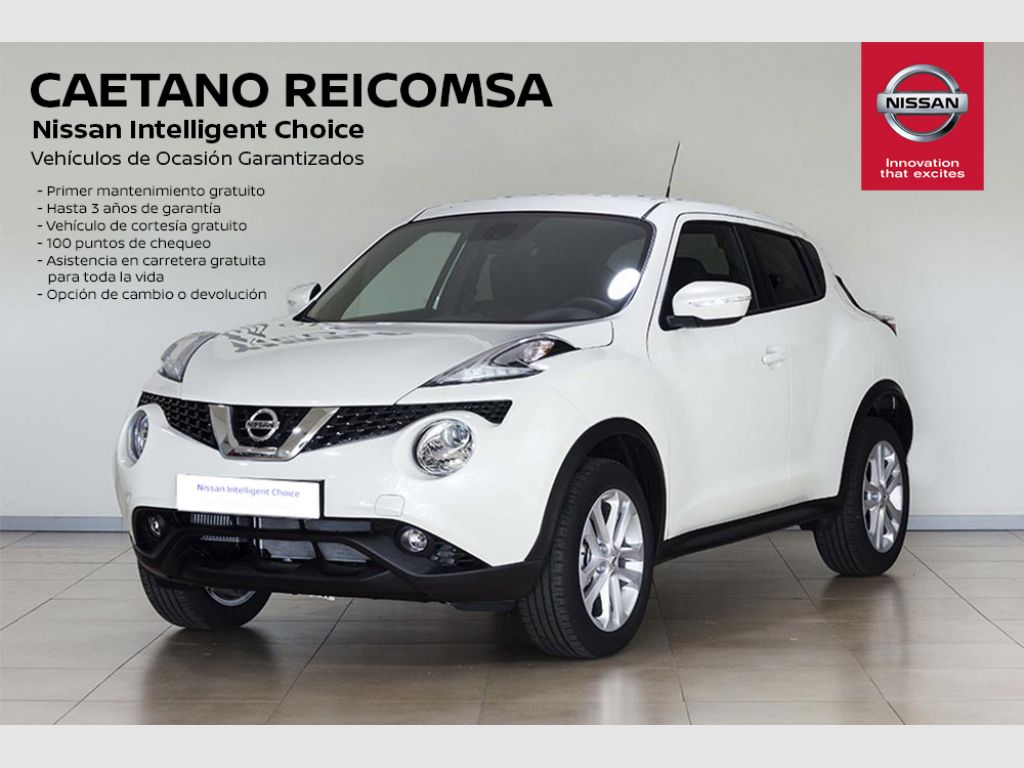 Nissan JUKE E6D-Temp 83 kW (112 CV) 5M/T ACENTA segunda mano Madrid