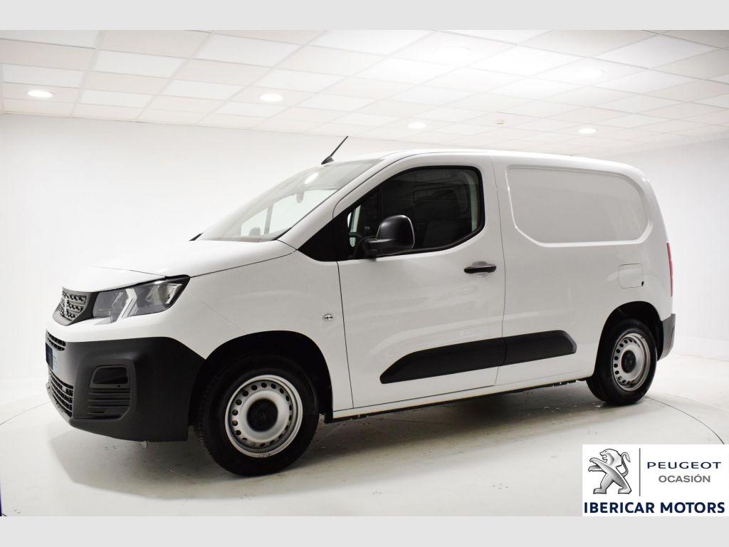 Peugeot Partner Premium Standard 600kg BlueHDi 75   segunda mano Málaga