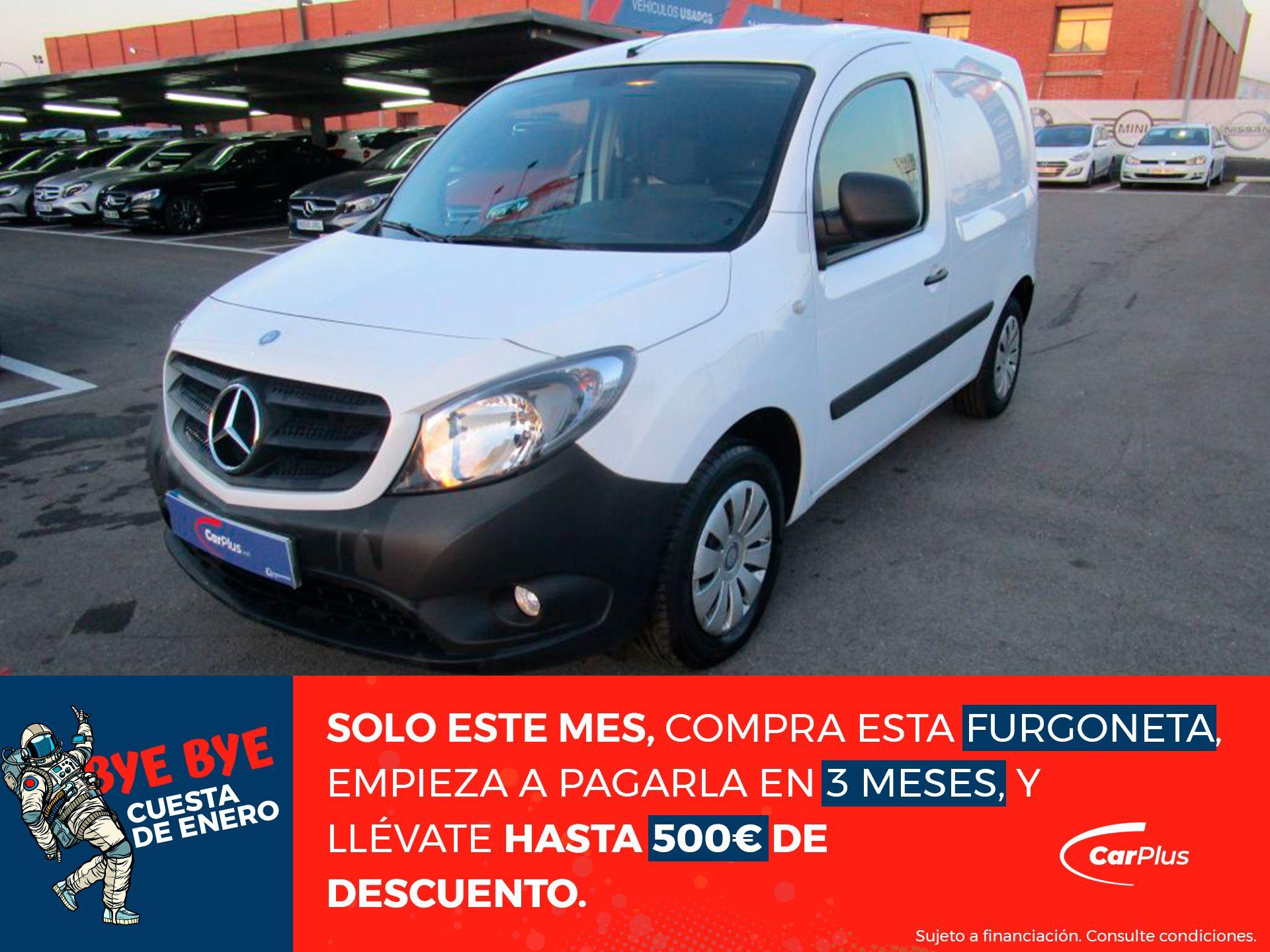 Mercedes Benz Citan 109 CDI Furgón Largo segunda mano Madrid