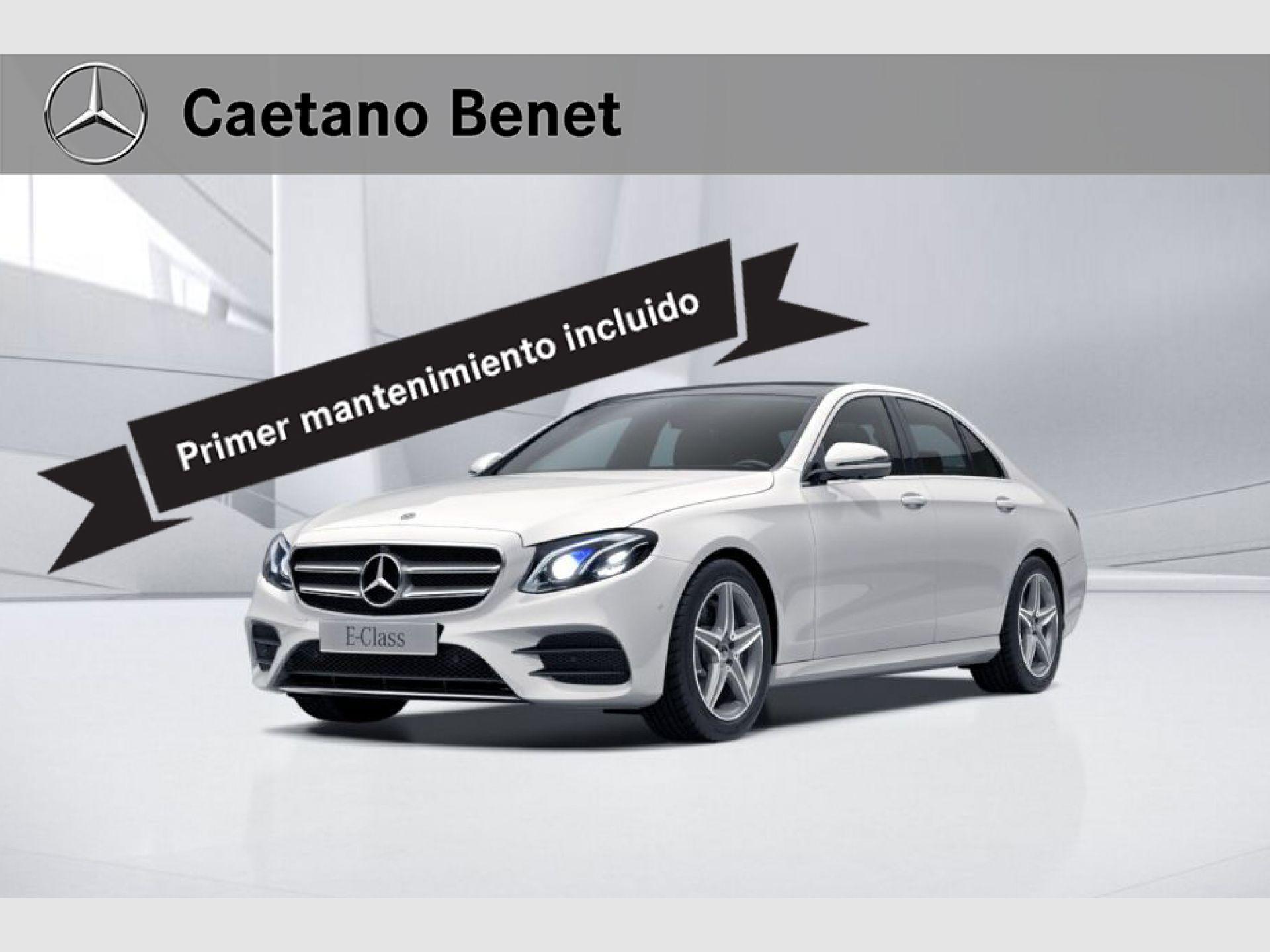 Mercedes Benz Clase E 220 d segunda mano Málaga
