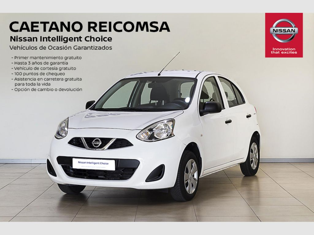 Nissan Micra 5p 1.2 NARU EDITION segunda mano Madrid