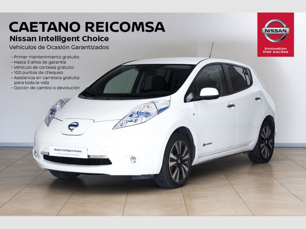 Nissan LEAF 30kWh Tekna segunda mano Madrid