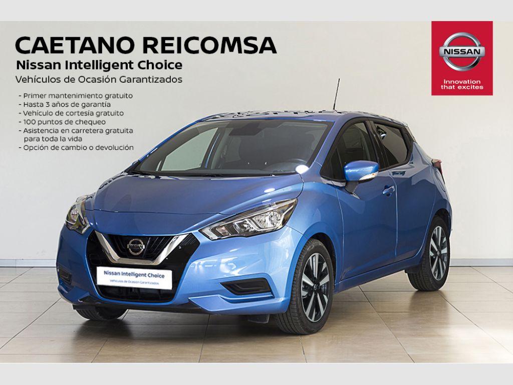 Nissan Micra DIG-T 86 kW (117 CV) E6D Acenta segunda mano Madrid