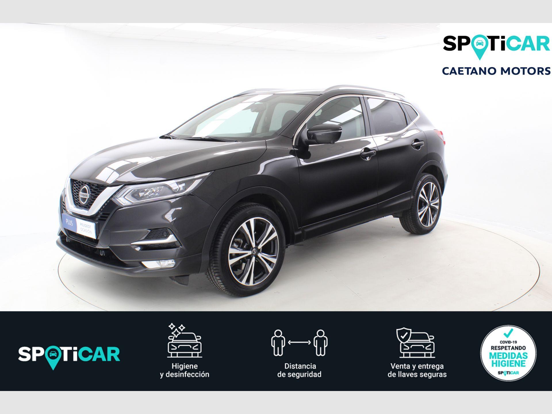 Nissan Qashqai 1.3 DIG-T N-Connecta 4x2 103kW segunda mano Málaga