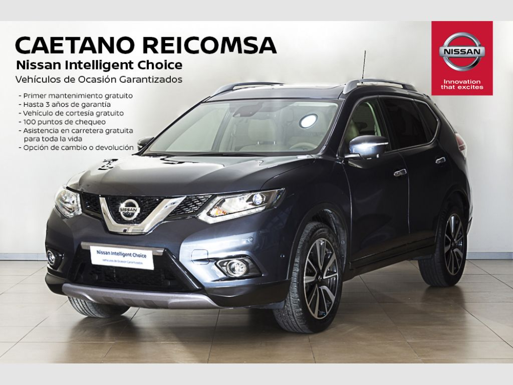 Nissan X-Trail dCi 130 CV (96kW) 4x4-i TEKNA segunda mano Madrid