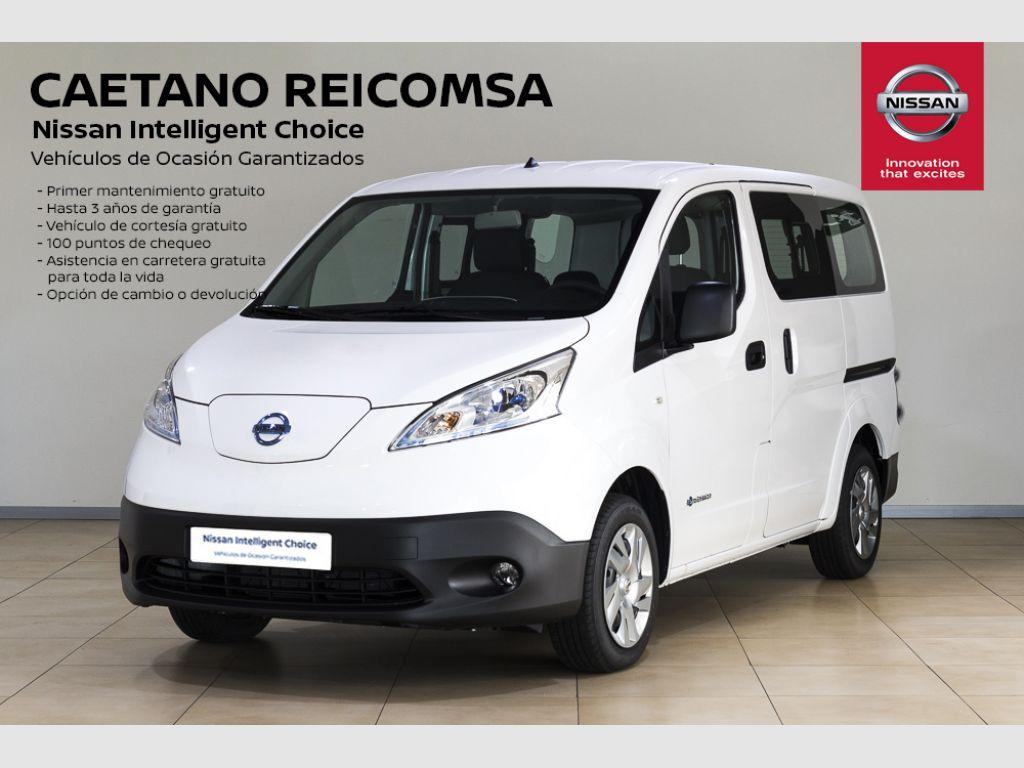 Nissan e-NV200 Combi 5 40 kWh COMFORT Doble Puerta Tr. segunda mano Madrid