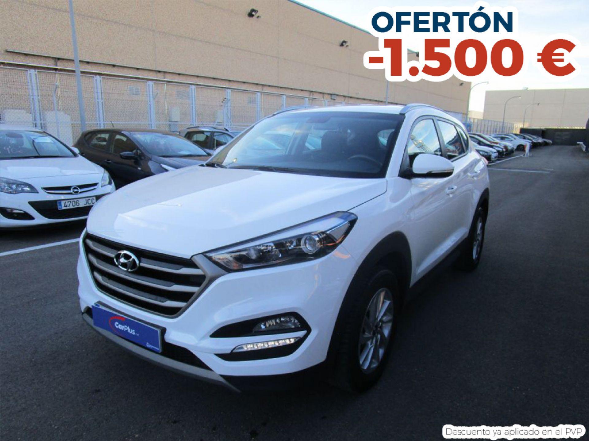 Hyundai Tucson 1.7 CRDi 85kW (115CV) BD Klass Nav 4x2 segunda mano Madrid