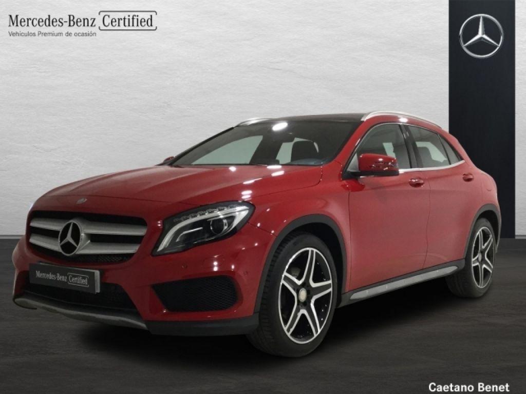 Mercedes Benz Clase GLA 200 d AMGLine segunda mano Málaga