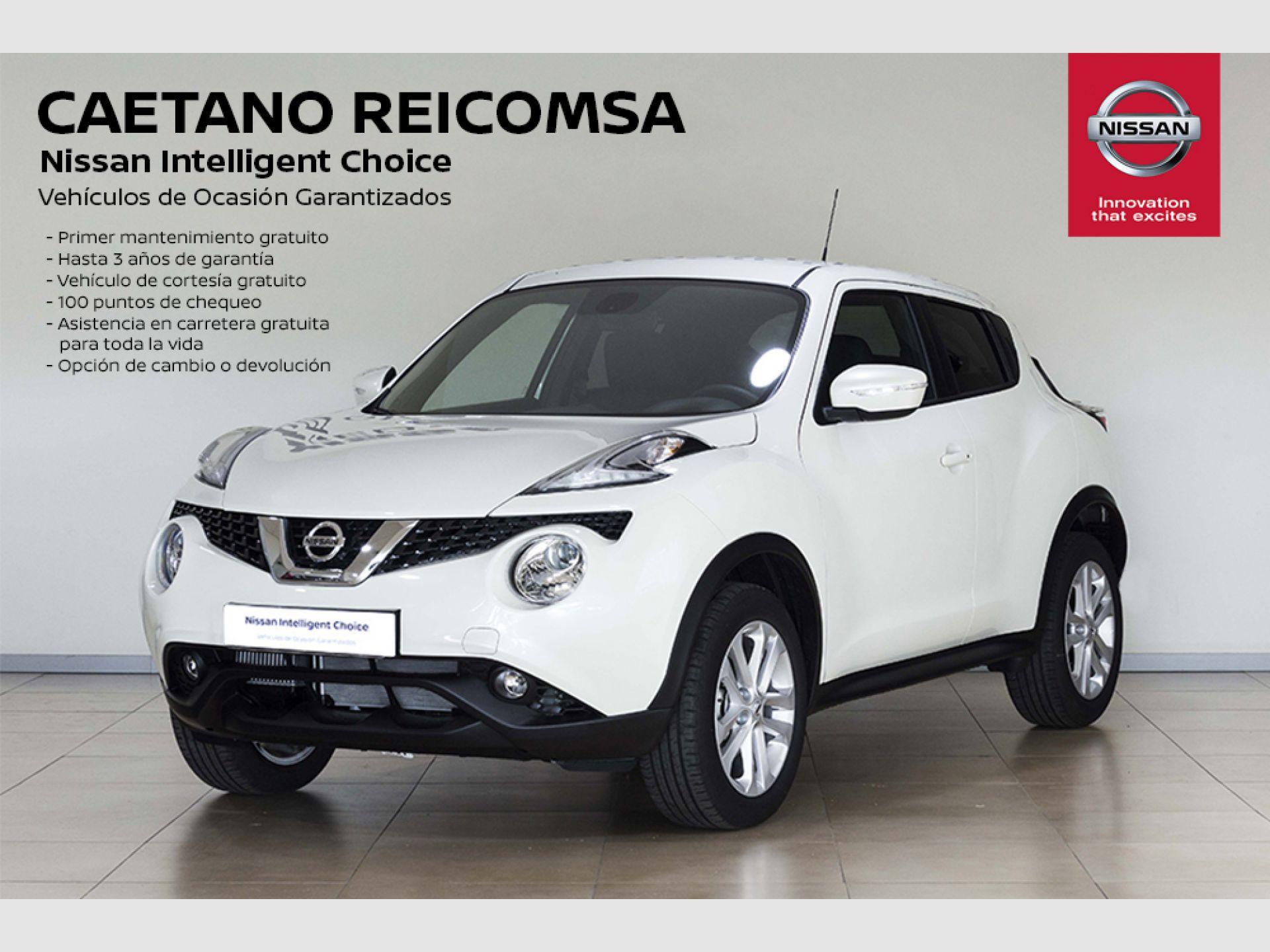 Nissan JUKE DIG-T EU6 85 kW (115 CV) 6M/T N-CONNECTA segunda mano Madrid