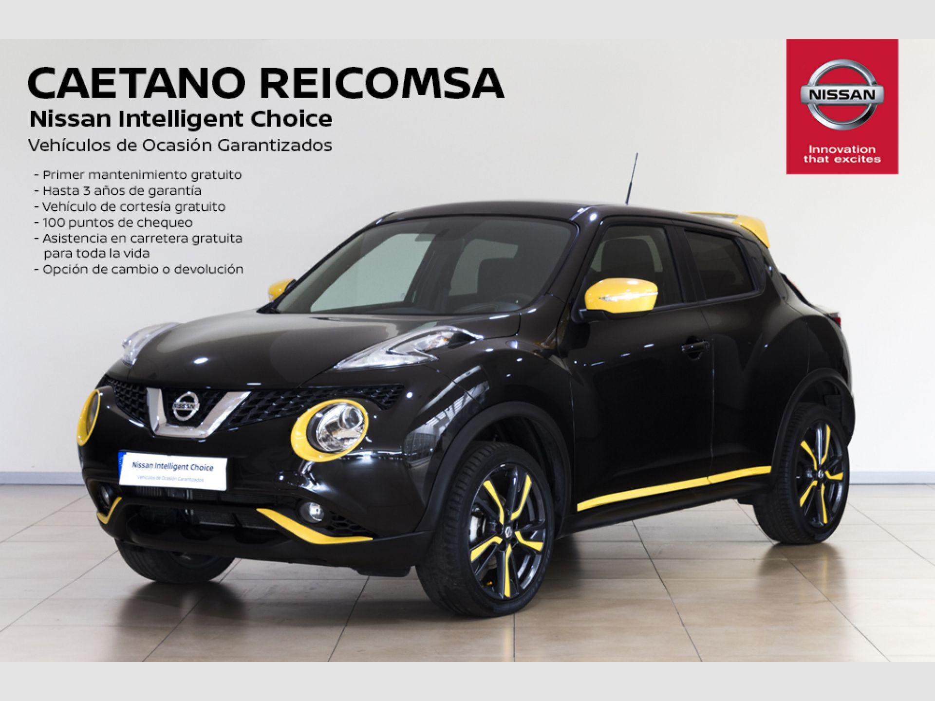 Nissan JUKE dCi EU6 81 kW (110 CV) 6M/T ACENTA + NAVEGADOR segunda mano Madrid