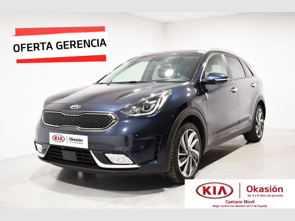 Kia Niro 1.6 GDi HEV104kW (141CV) Emotion segunda mano Málaga
