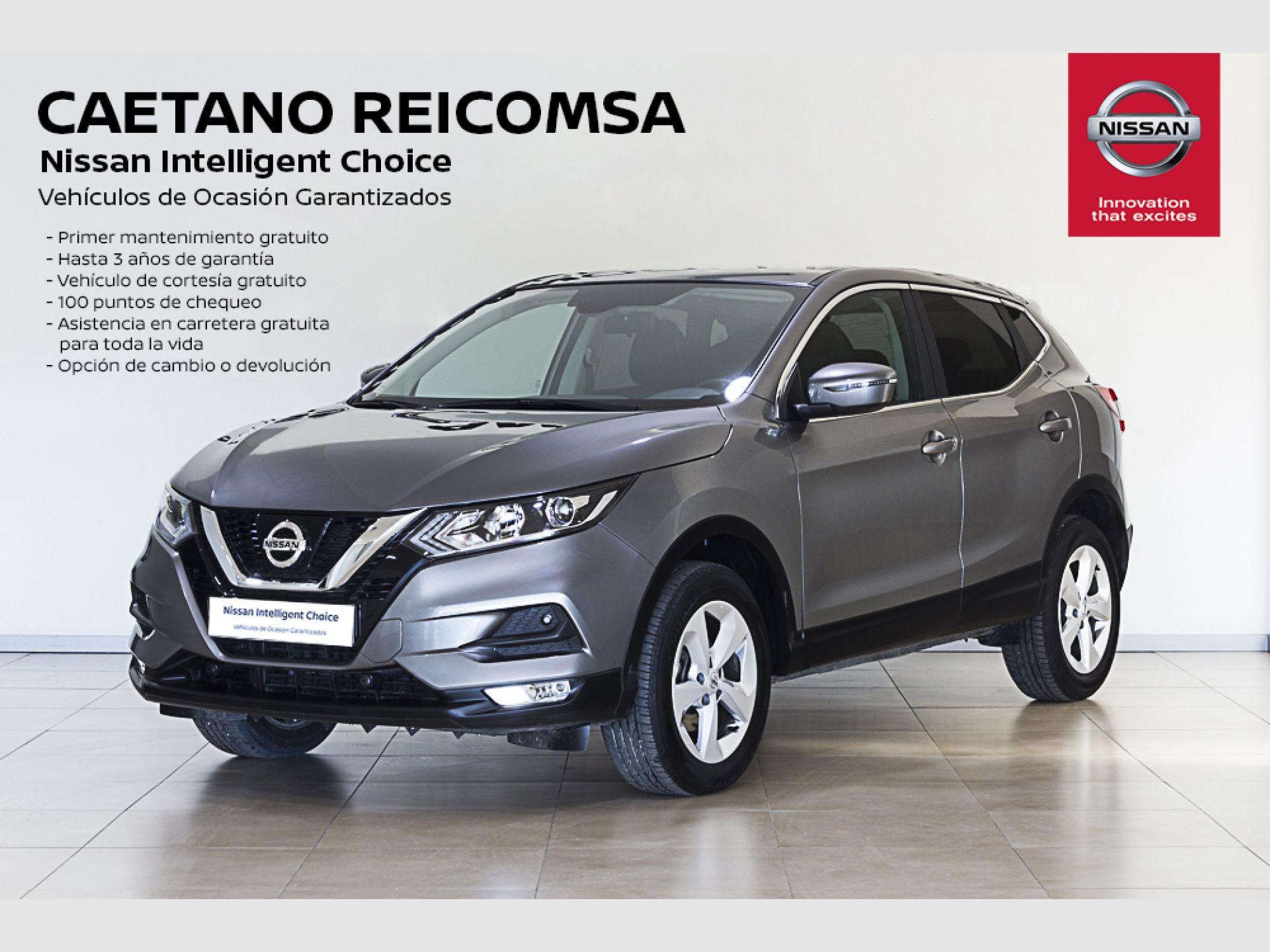 Nissan Qashqai DIG-T 85 kW (115 CV) XTRONIC ACENTA segunda mano Madrid