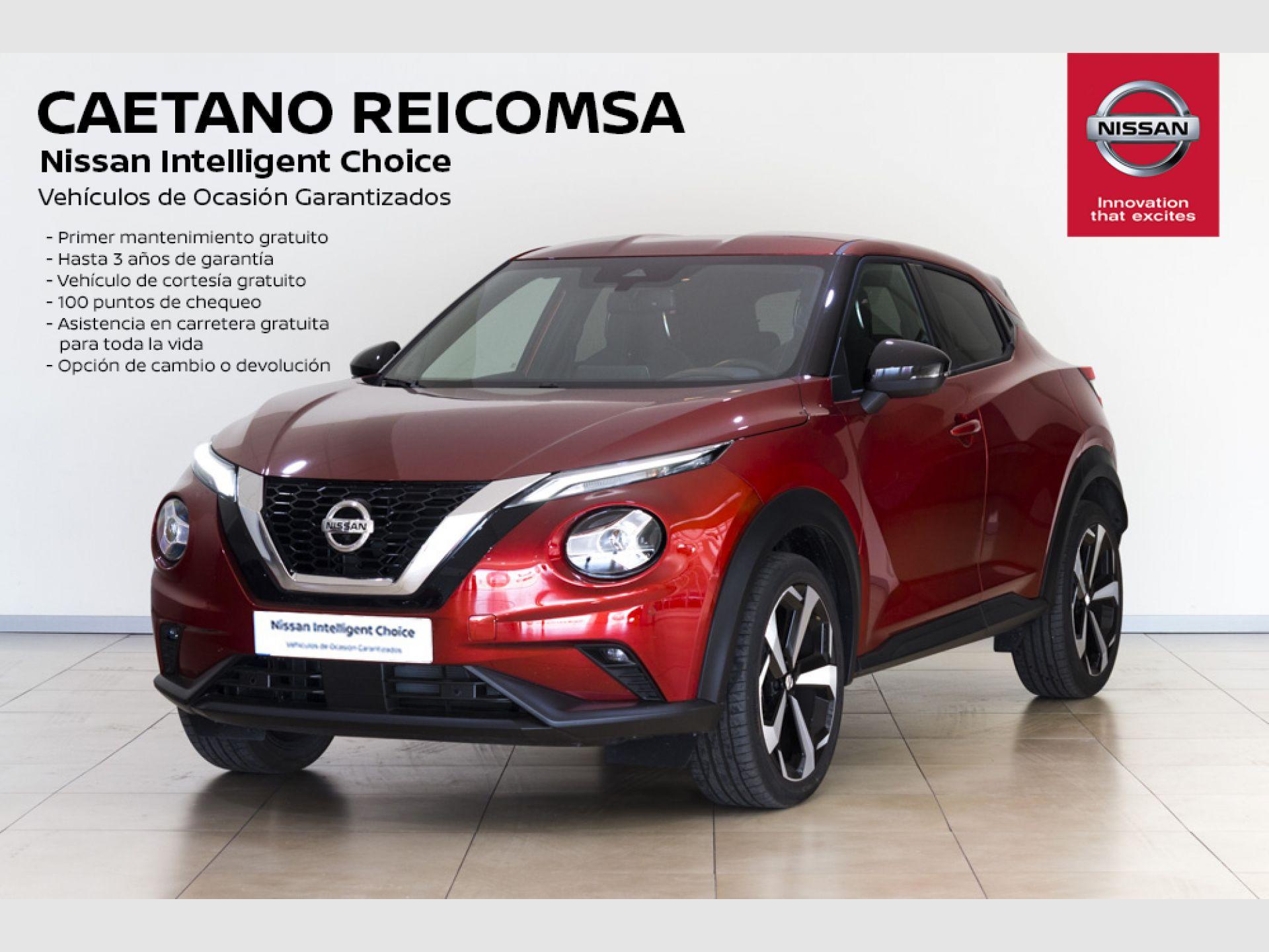 Nissan JUKE DIG-T 86 kW (117 CV) 6 M/T TEKNA + BOSE segunda mano Madrid