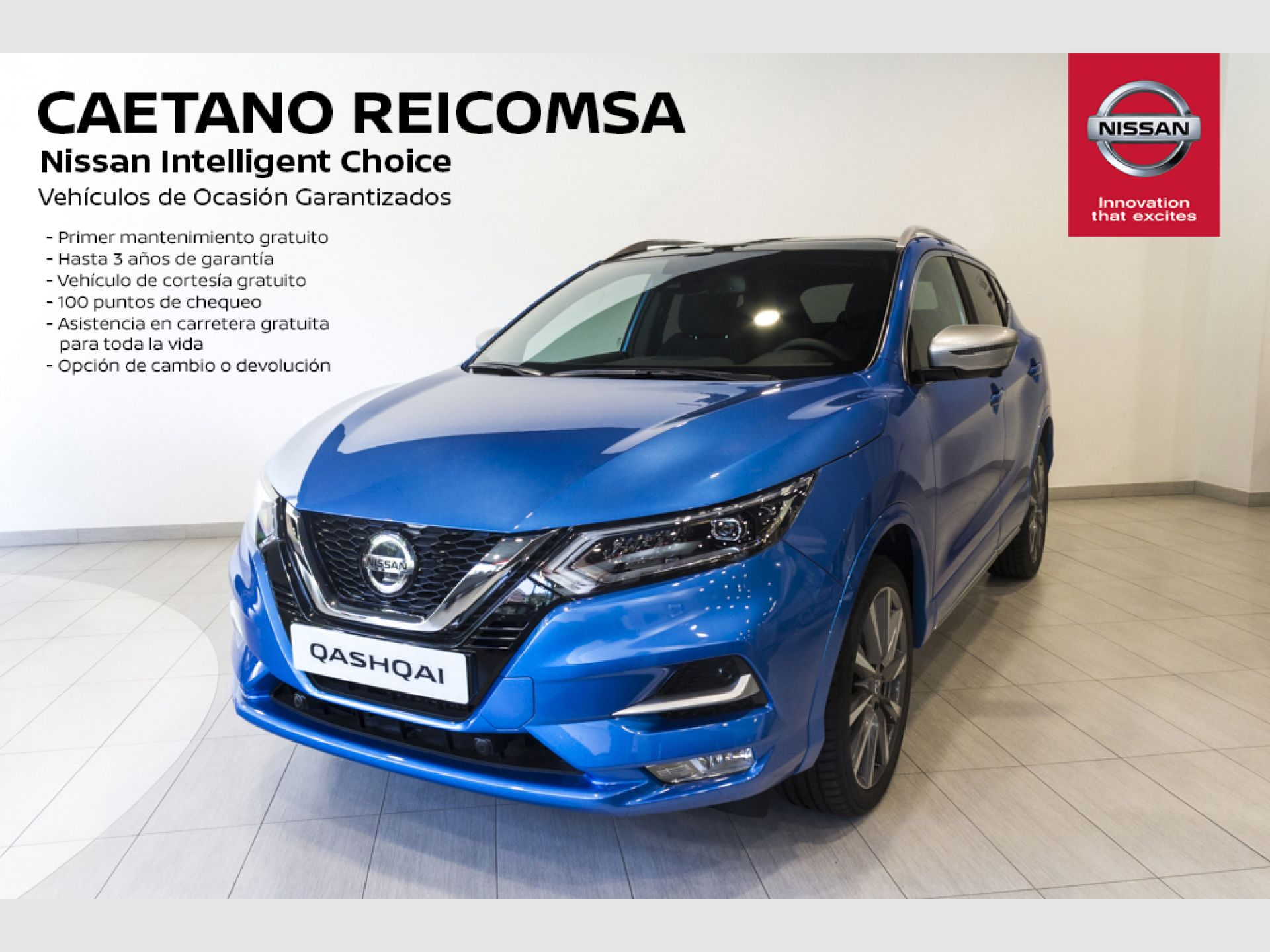 Nissan Qashqai DIG-T 103 kW (140 CV) E6D N-MOTION segunda mano Madrid