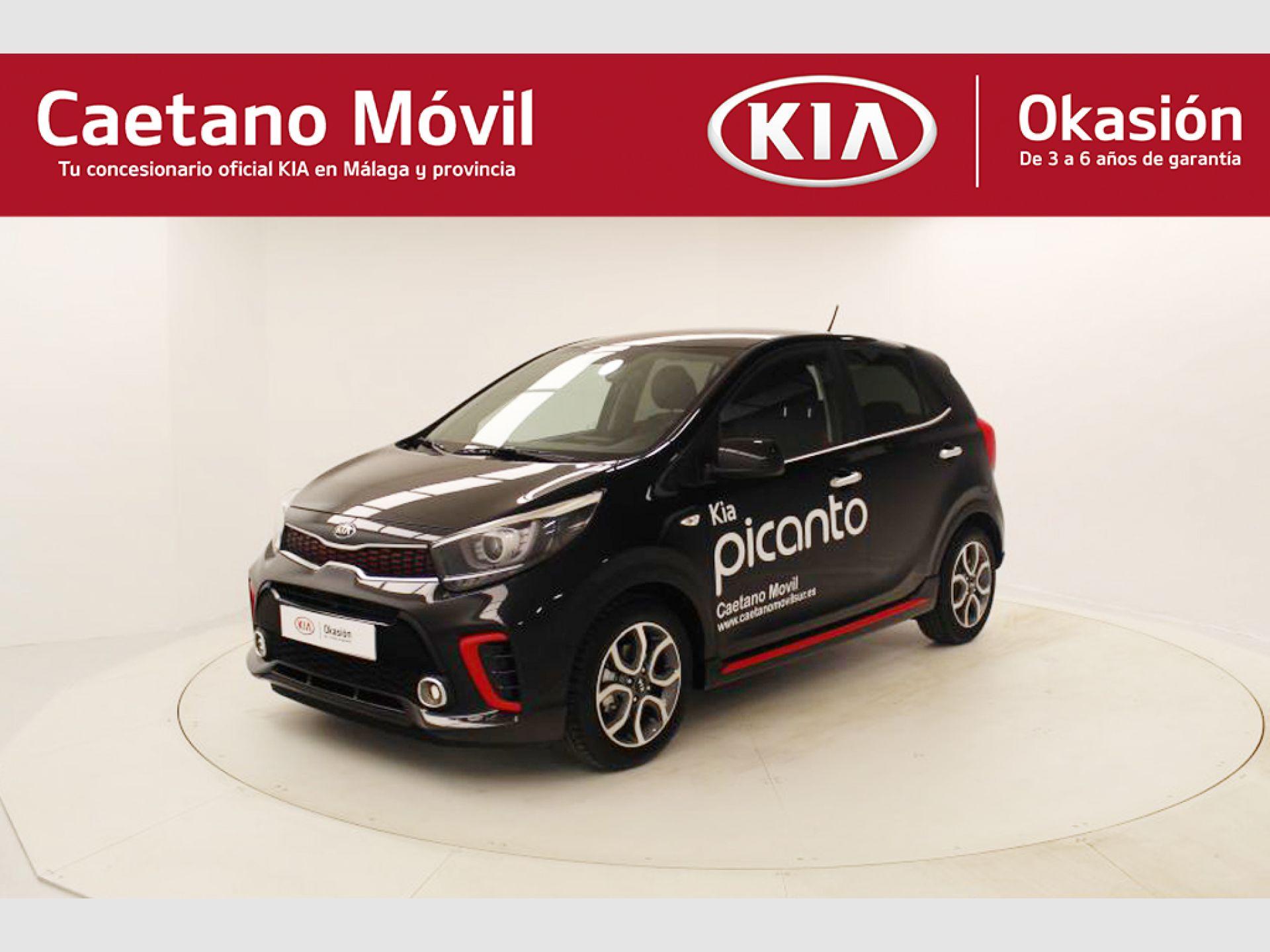 Kia Picanto 1.2 CVVT 62kW (84CV) GT Line segunda mano Málaga