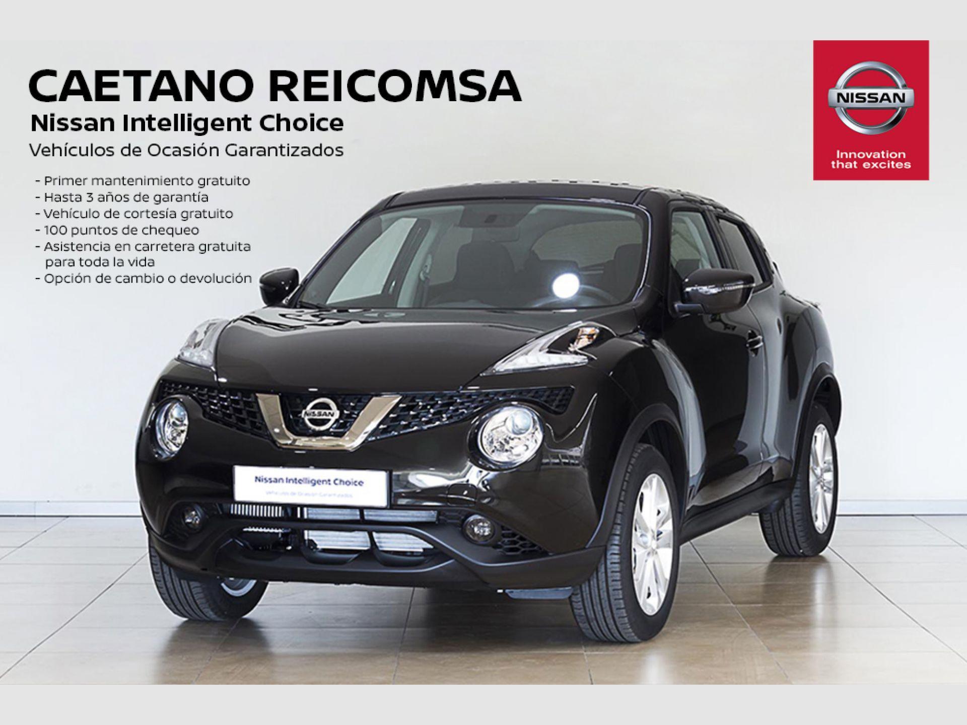 Nissan JUKE DIG-T EU6 85 kW (115 CV) 6M/T ACENTA + NAVEGADOR segunda mano Madrid