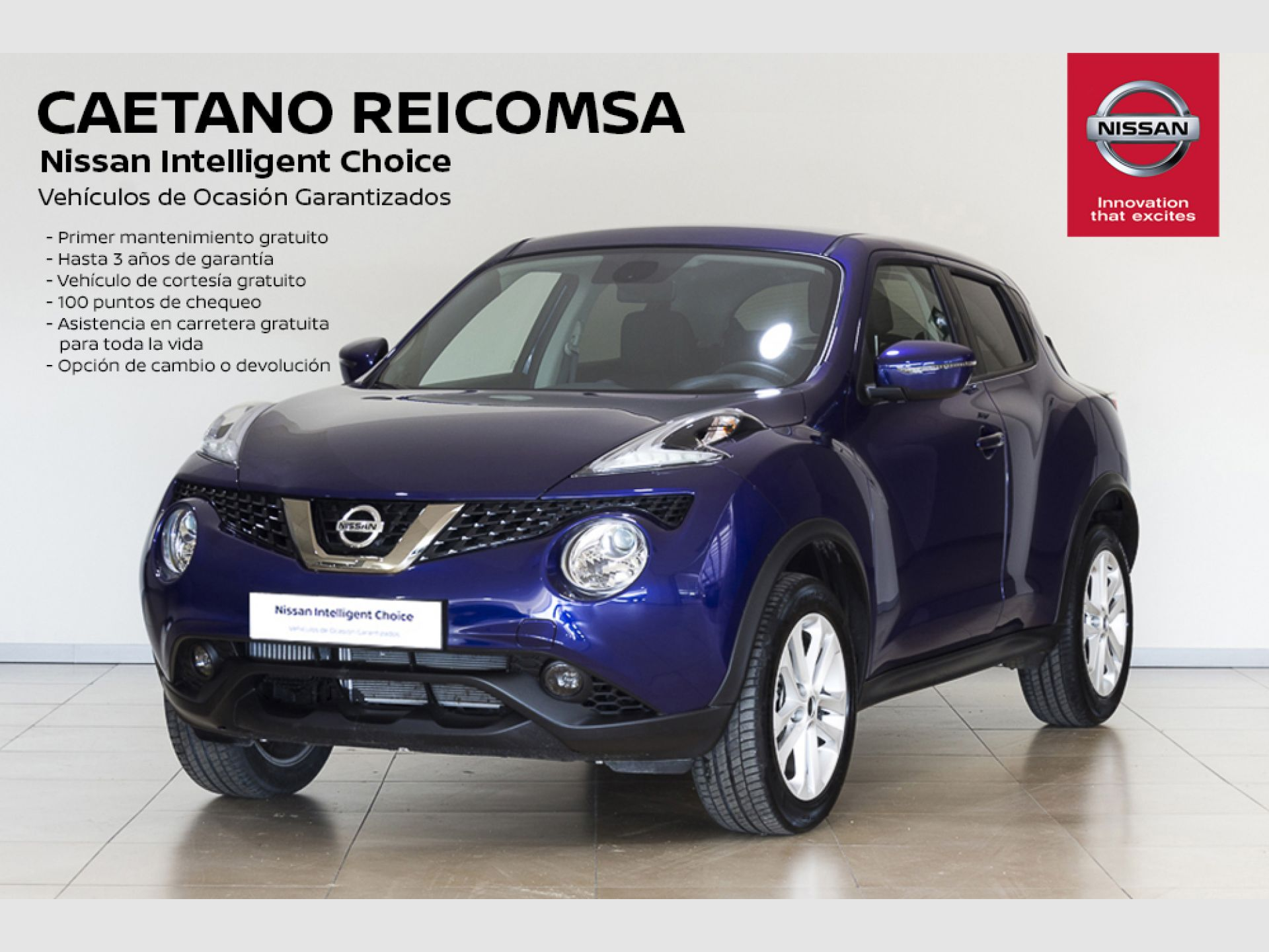 Nissan JUKE 1.2 DIG-T N-CONNECTA segunda mano Madrid
