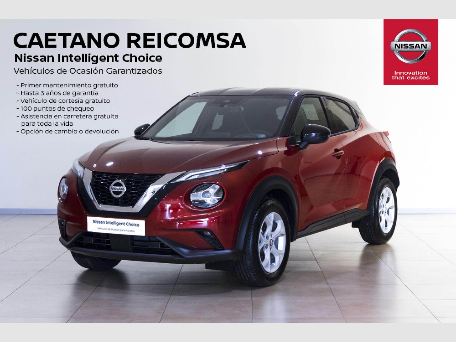 Nissan JUKE DIG-T 86 kW (117 CV) 6 M/T N-CONNECTA segunda mano Madrid