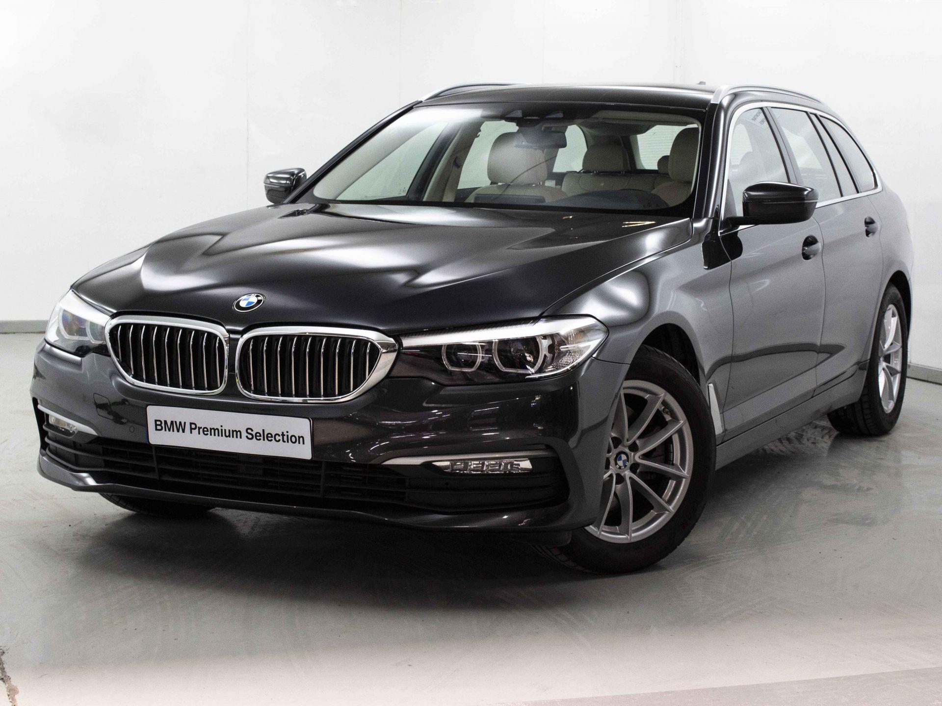 BMW Serie 5 520dA Touring segunda mano Madrid