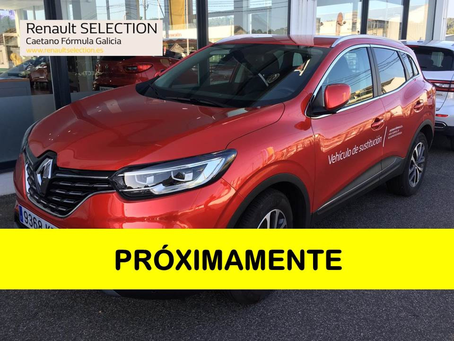 Renault Kadjar 1.3 TCe GPF Zen EDC 103kW segunda mano Pontevedra