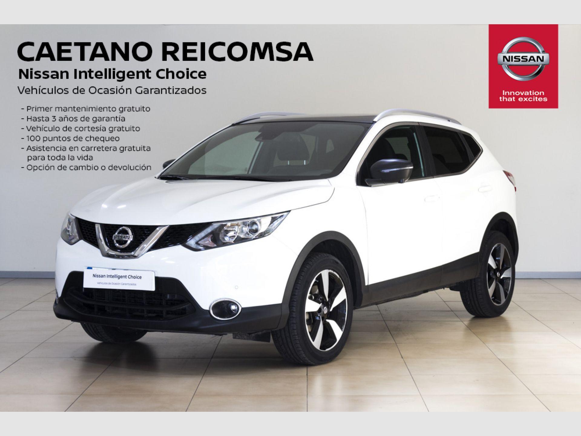 Nissan Qashqai 1.6 dCi N-VISION segunda mano Madrid