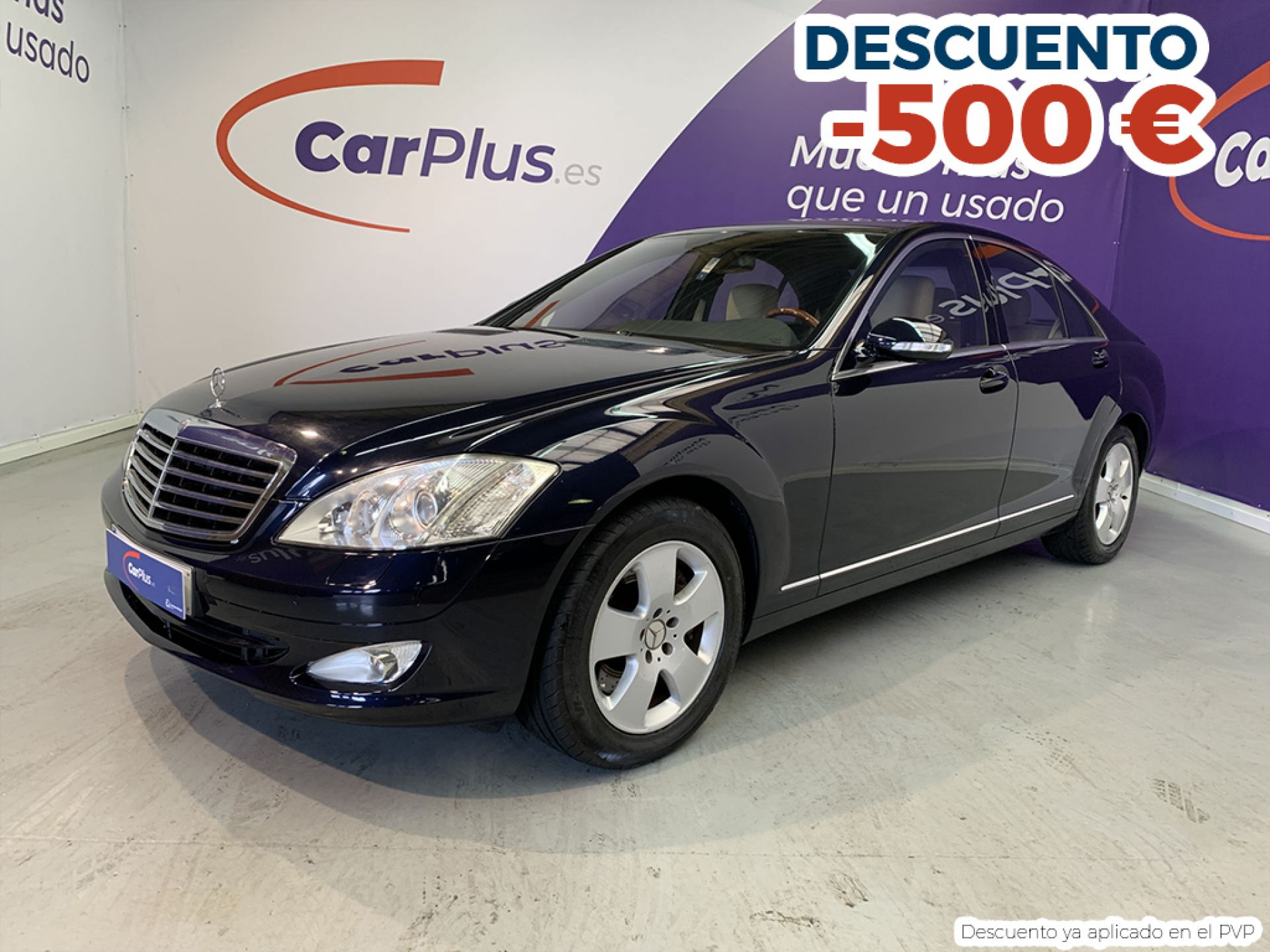 Mercedes Benz Clase S 500 segunda mano Madrid