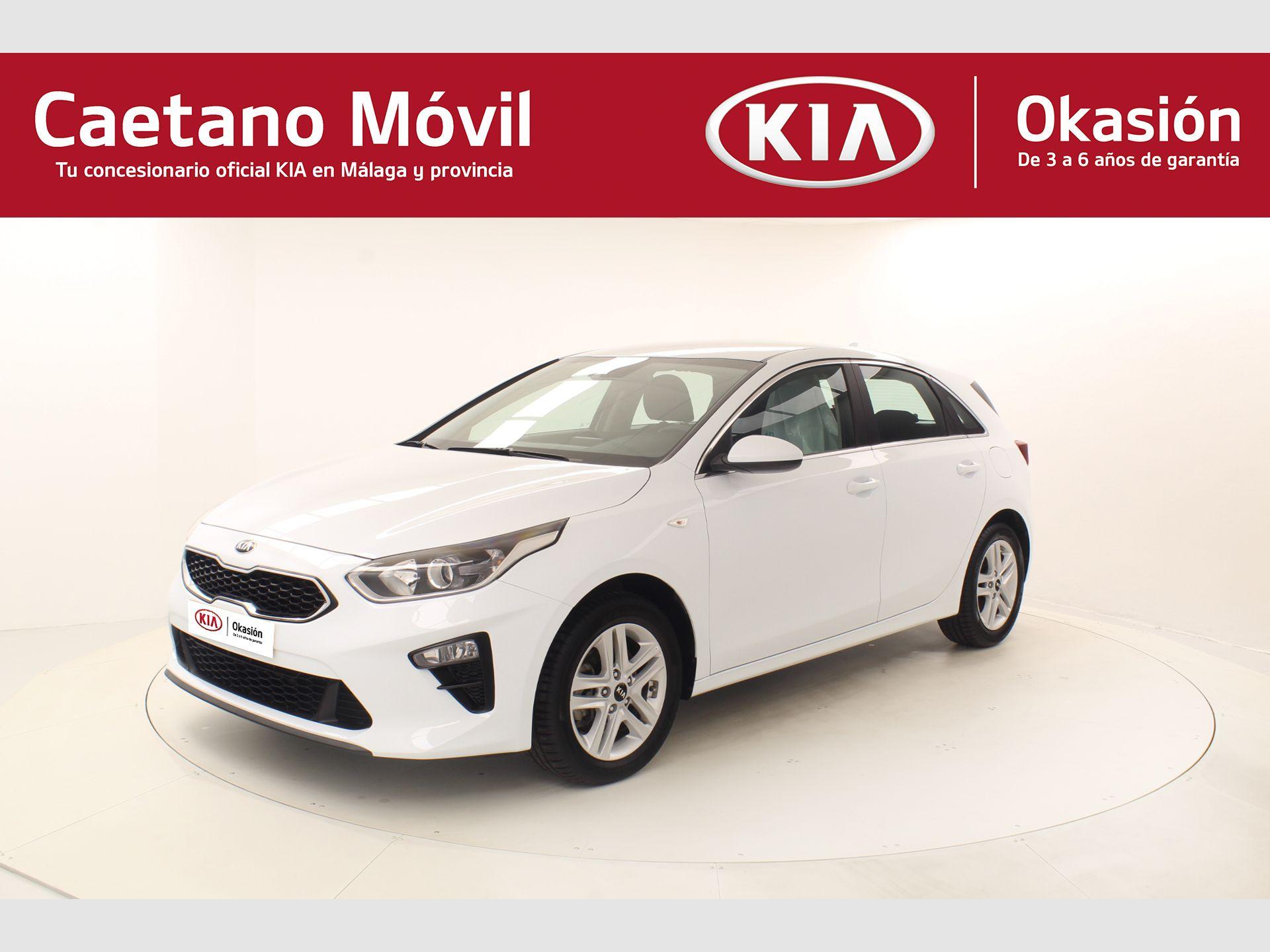 Kia Ceed 1.4 CVVT 74kW (100CV) Drive segunda mano Málaga