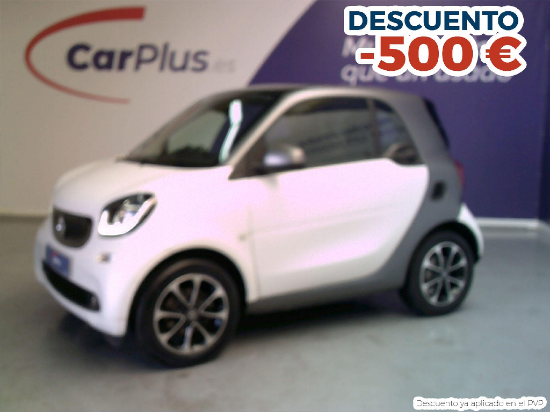 Smart Fortwo 1.0 52kW (71CV) S/S PASSION COUPE segunda mano Madrid