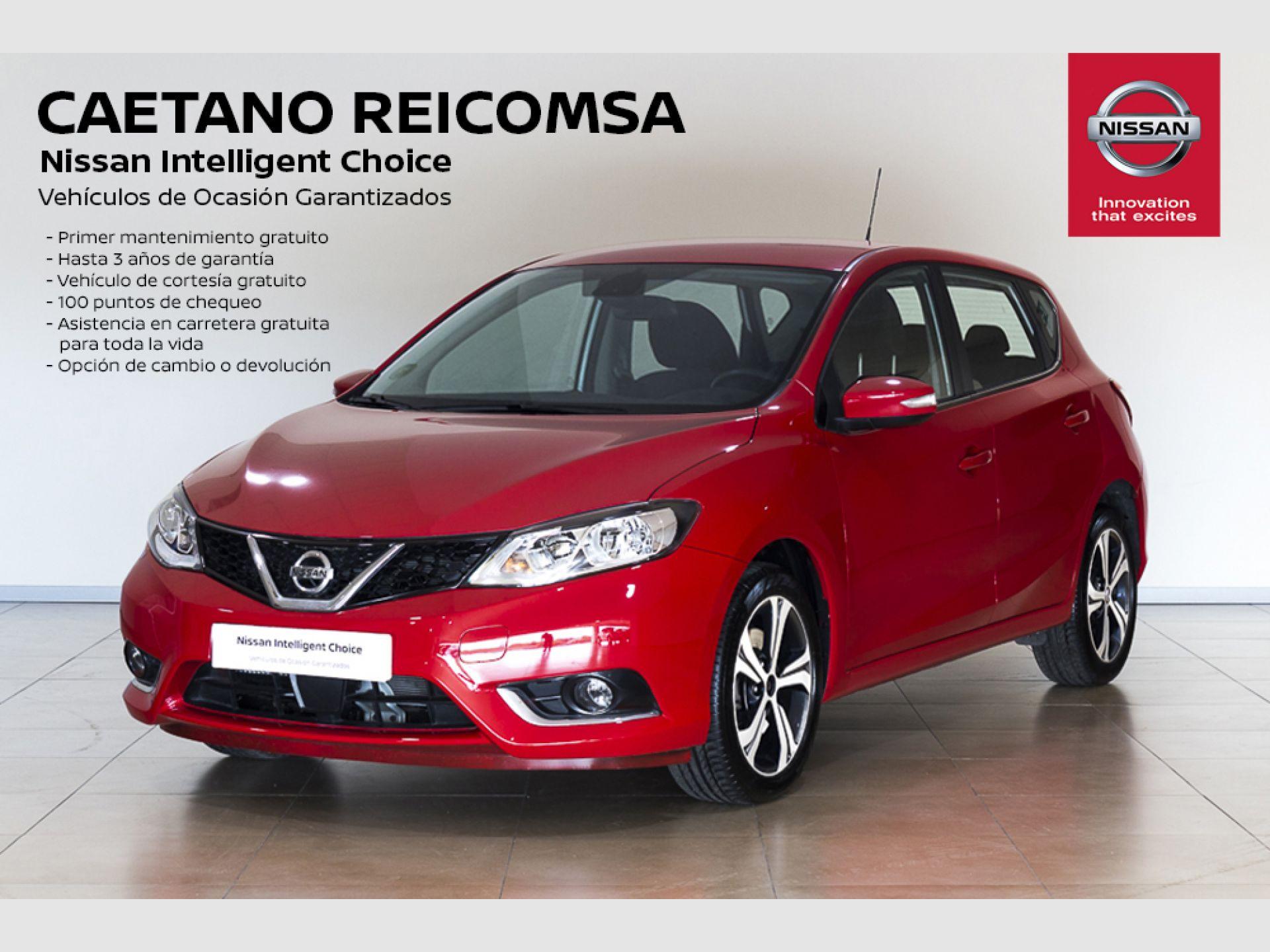 Nissan PULSAR 1.2 DIG-T ACENTA + NAVEGADOR segunda mano Madrid