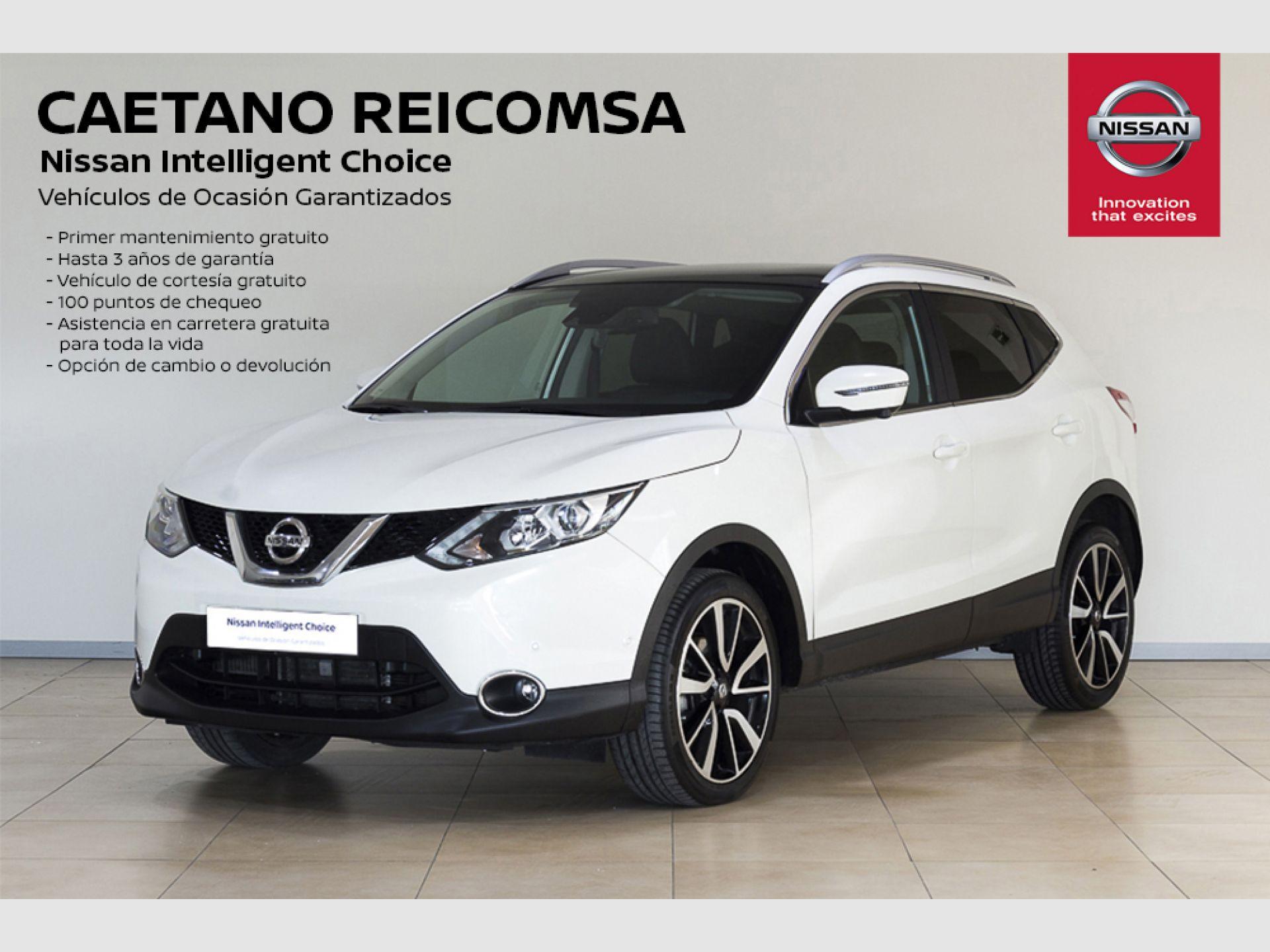 Nissan Qashqai 1.5dCi S&S TEKNA PREMIUM 4x2 Piel segunda mano Madrid