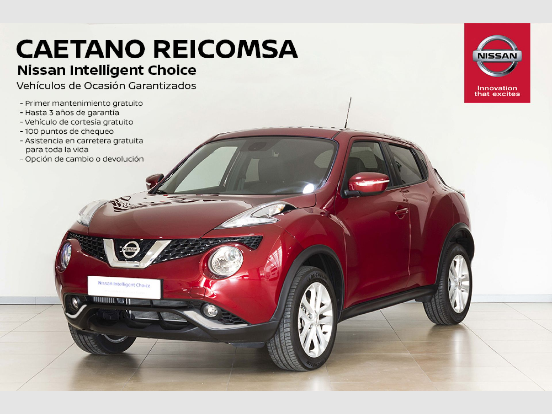 Nissan JUKE G EU6 86 kW (117 CV) XTRONIC N-CONNECTA + CROMADOS segunda mano Madrid