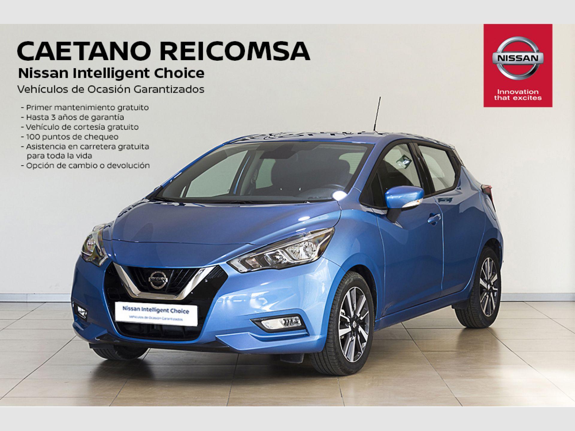 Nissan Micra 1.0G 52 kW (70 CV) Acenta segunda mano Madrid