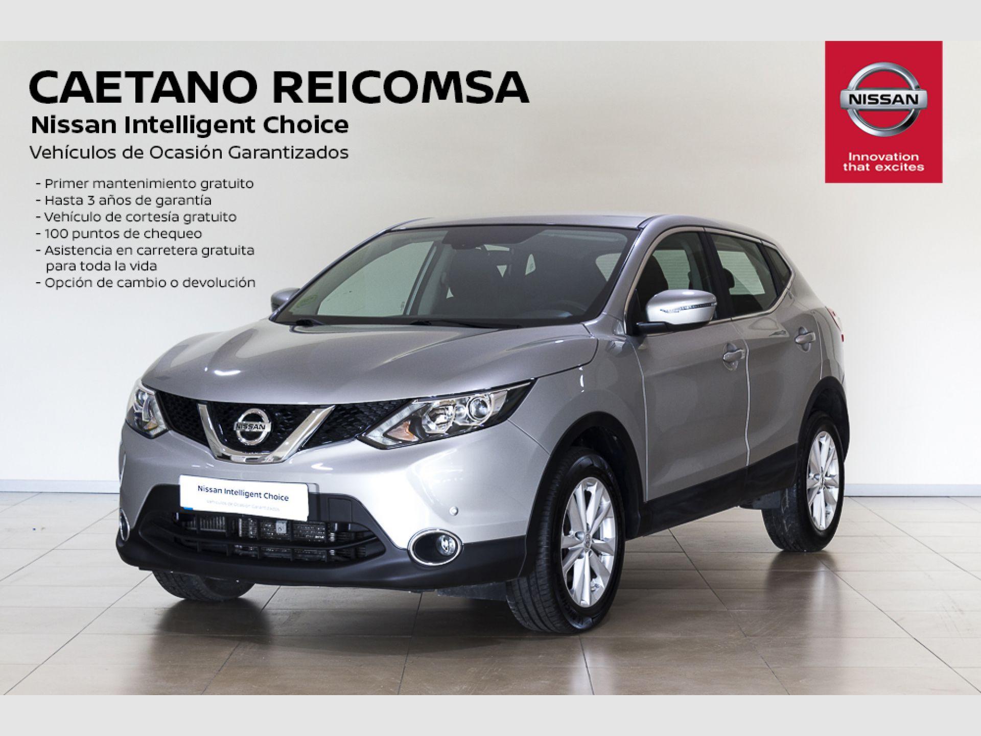 Nissan Qashqai 1.2 DIG-T ACENTA segunda mano Madrid