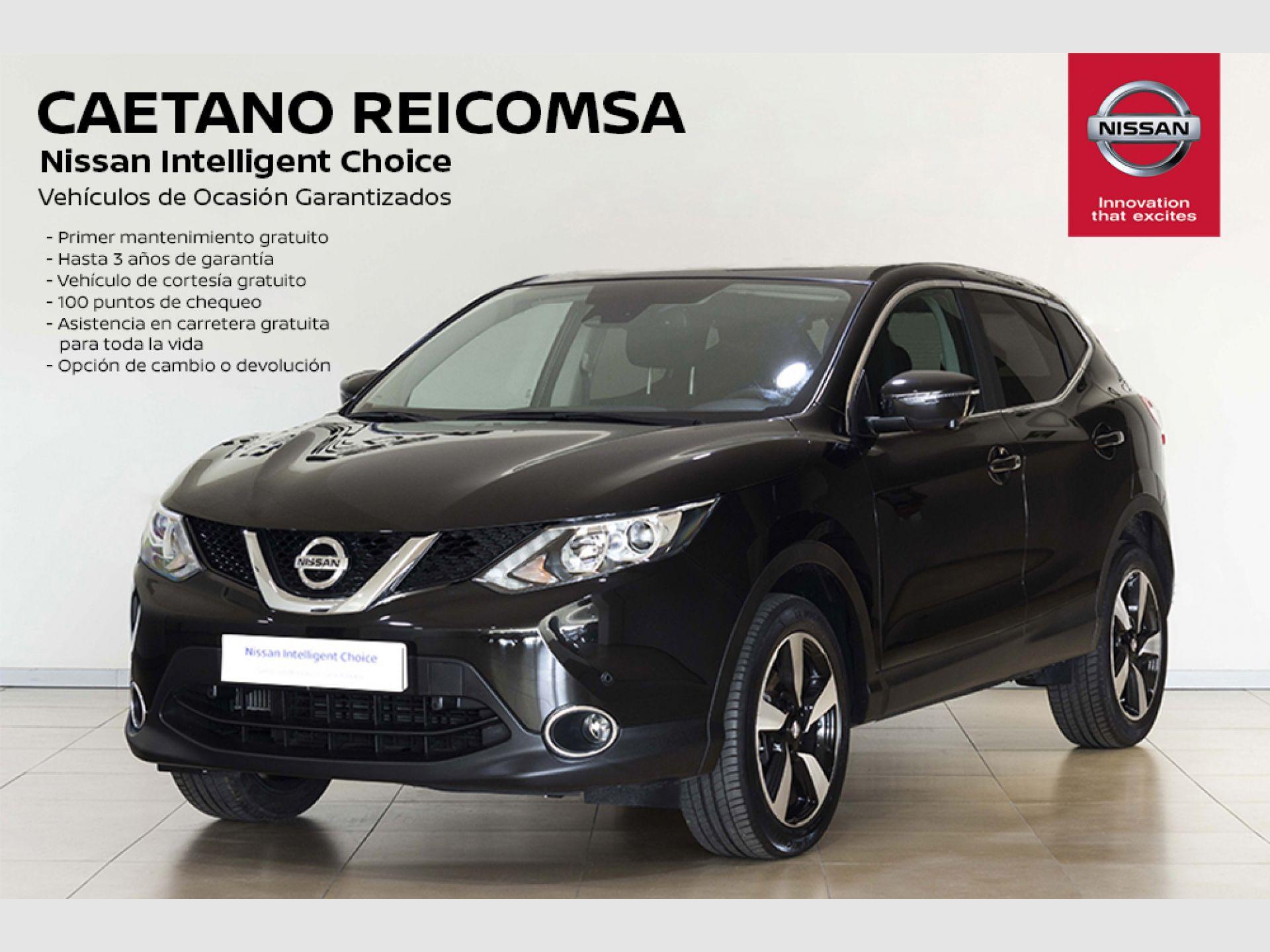 Nissan Qashqai 1.6i DIG-T N-CONNECTA 4X2 segunda mano Madrid