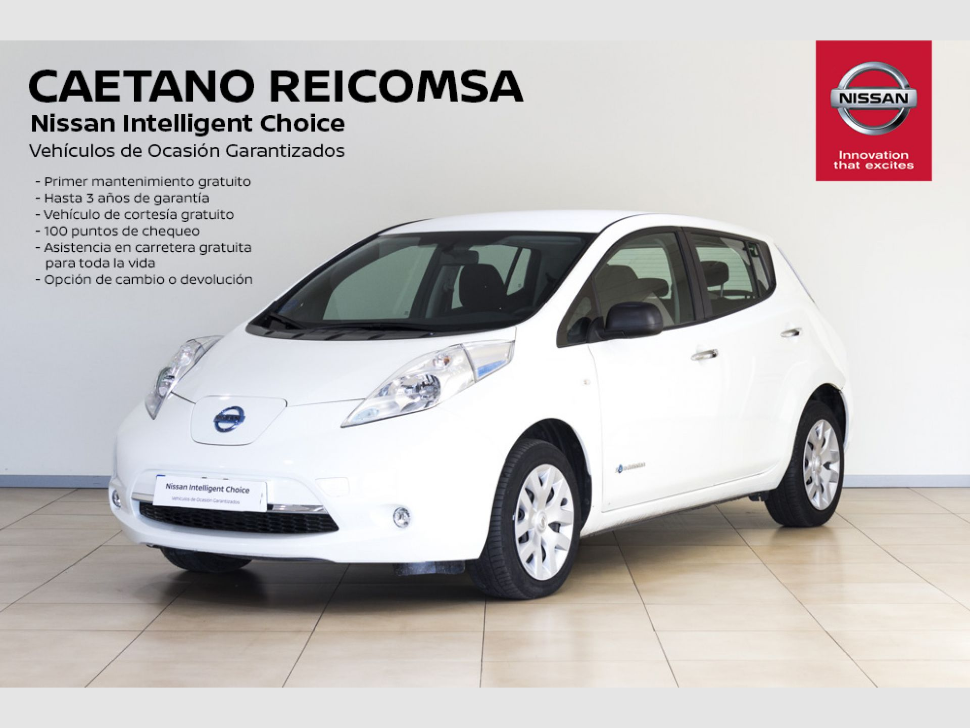 Nissan LEAF 24 KW VISIA segunda mano Madrid