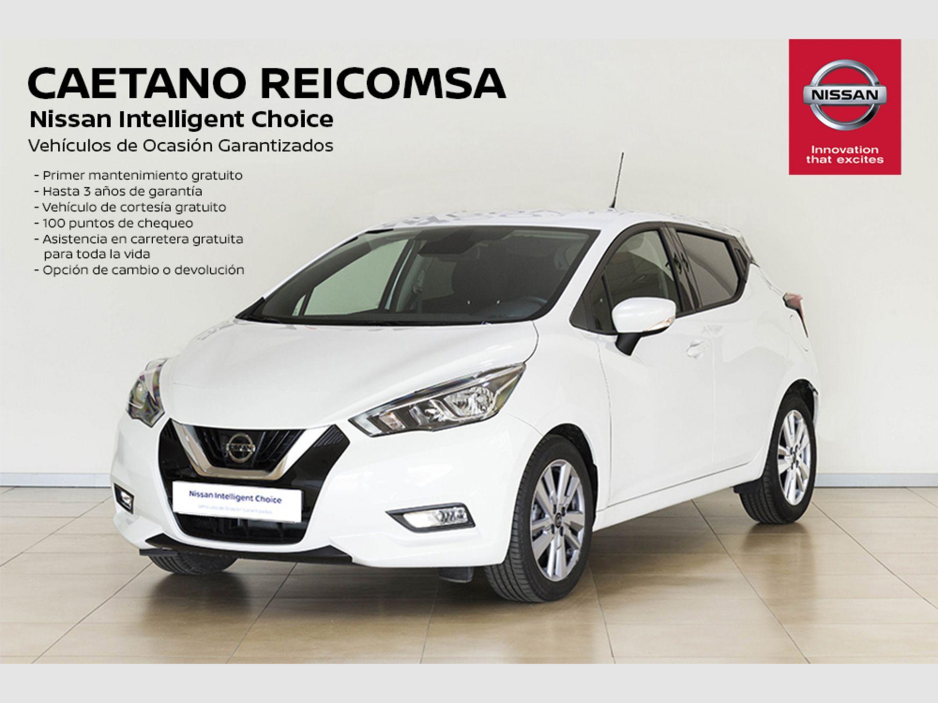 Nissan Micra IG-T 74 kW (100 CV) E6D Acenta segunda mano Madrid