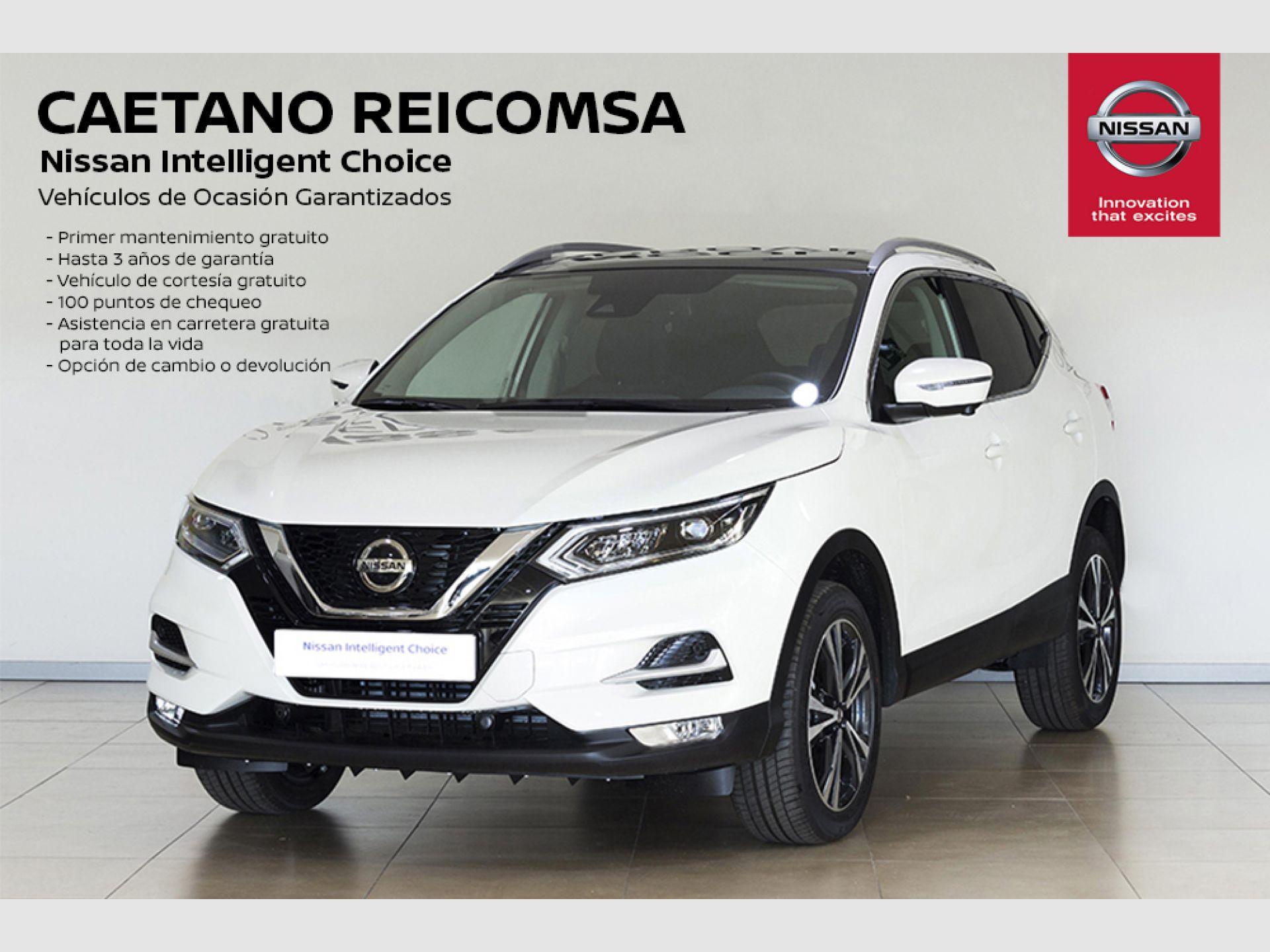 Nissan Qashqai DIG-T 103 kW (140 CV) E6D N-CONNECTA + LED segunda mano Madrid