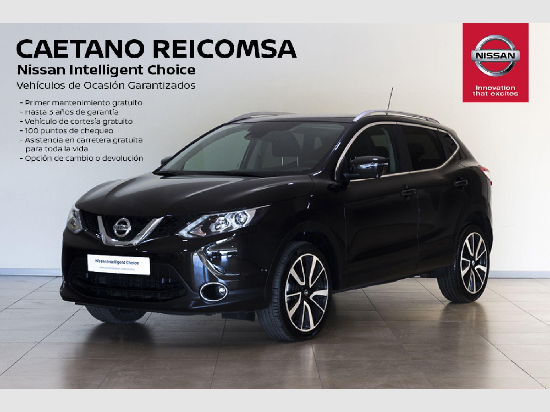 Nissan Qashqai 1.6dCi S&S TEKNA PREM 4x2 XTRONIC Piel segunda mano Madrid