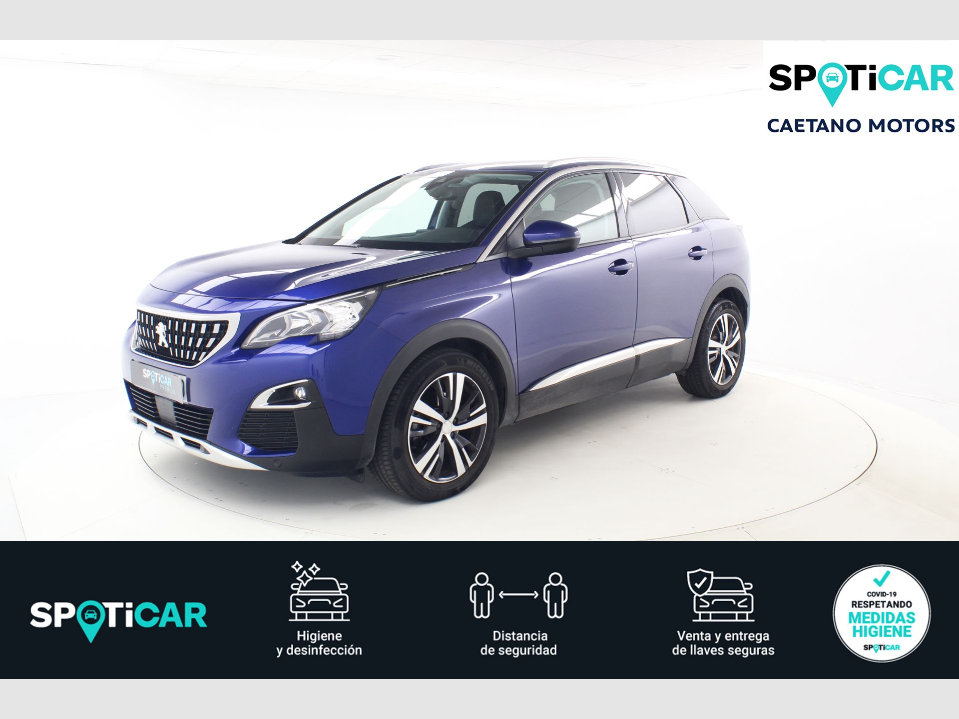 Peugeot 3008 Allure BlueHDi 96kW (130CV) S&S EAT8 segunda mano Málaga