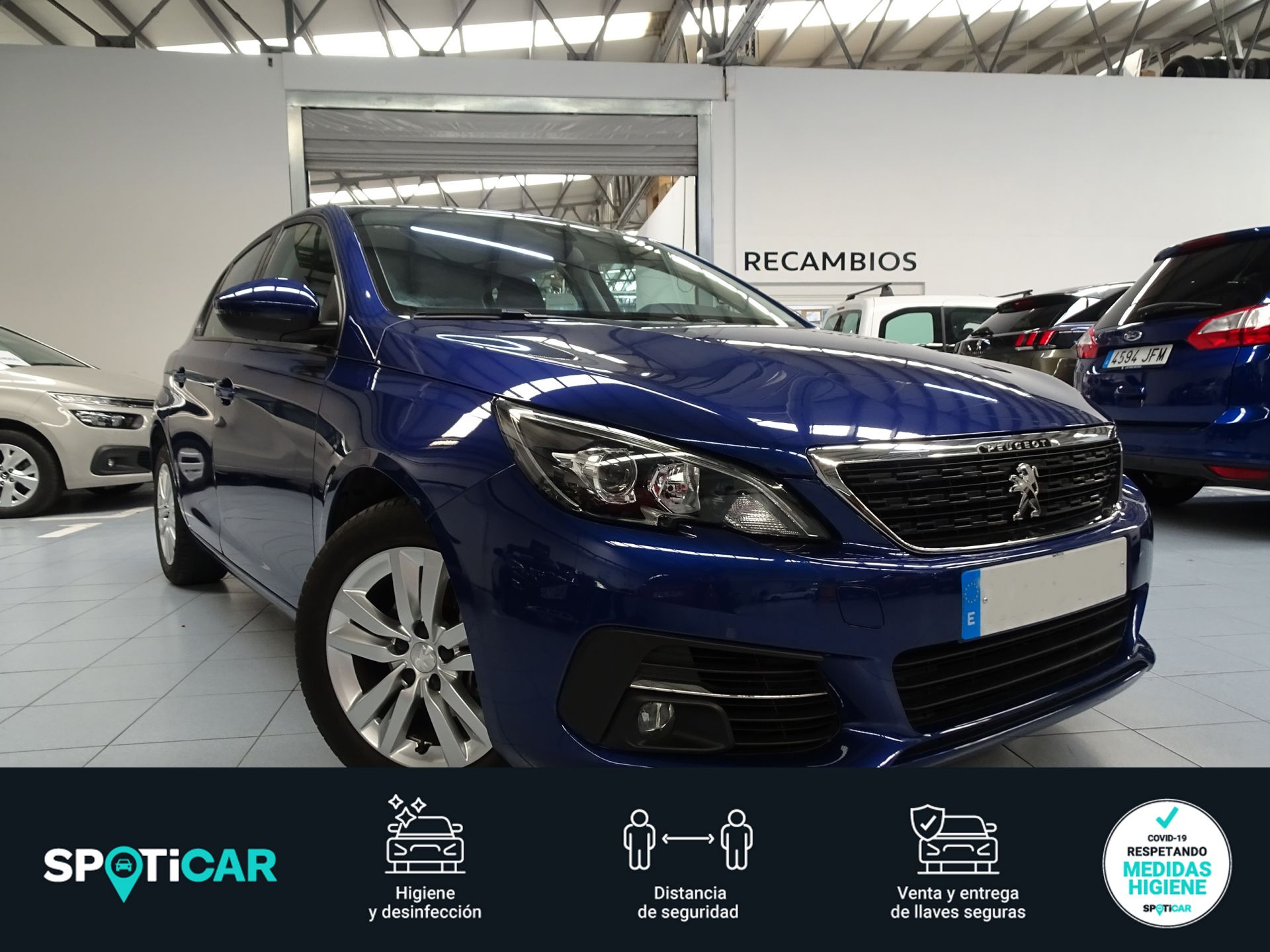 Peugeot 308 5p Active 1.5 BlueHDi 96KW (130CV) segunda mano Cádiz
